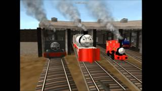 getlinkyoutube.com-Auran Thomas & Friends Music Video - We Make a Team Together!