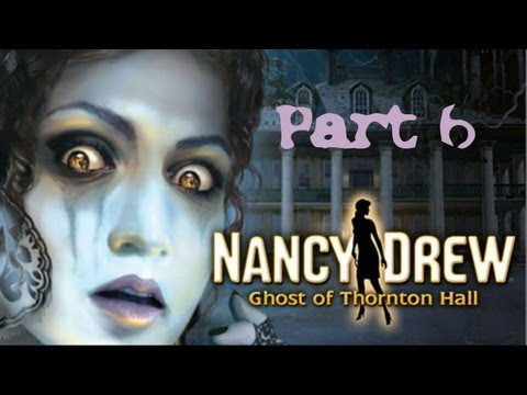 (6) NANCY DREW: GHOST OF THORNTON HALL w/ COMMENTARY - PC - AMATEUR SLEUTH