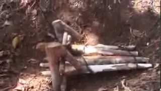 getlinkyoutube.com-Trampa de suelo con lazo.