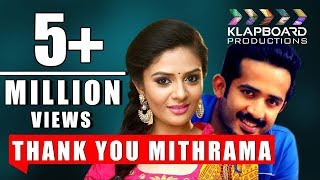 Thank you Mithrama | New Telugu Short Film | Anchor Ravi | Sree Mukhi | Rakesh Silver | RK Nallam