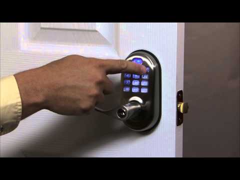 Yale Real Living Push Button Lever Lock Programming - Audio Mode 07