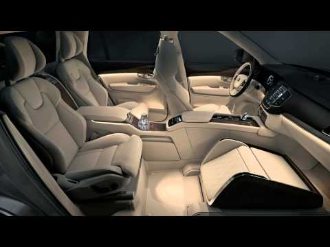 Volvo XC90 Excellence Lounge Console video