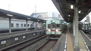 getlinkyoutube.com-西鉄小郡駅を通過する特急列車
