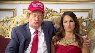 getlinkyoutube.com-Donald Trump Sabotages Wife's Interview