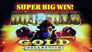 **NEW** - BUFFALO GOLD SLOT - SUPER BIG WIN!! - Slot Machine Bonus