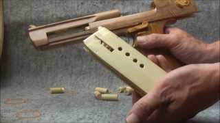getlinkyoutube.com-BLOW⇔BACK RUBBER BAND GUN 04.2 I.W.I DESERT EAGLE ejection is added