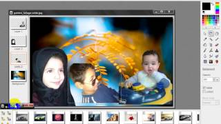 شرح تركيب الصور ببرنامج PhotoFiltre Studio X