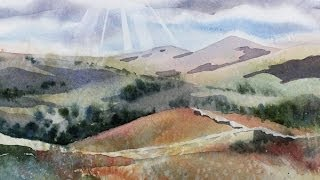getlinkyoutube.com-Painting a Summer Landscape in Watercolor with Susan Avis Murphy, AWS