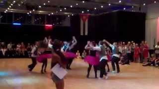 Dias Cubanos rueda de casino competition 2014, winners last year 2e this year