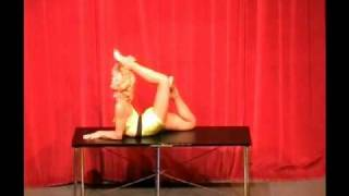 65 year old contortionist The Amazing Cristina #3