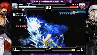 getlinkyoutube.com-The King Of Fighters XIII - Kula Diamond [Mugen]
