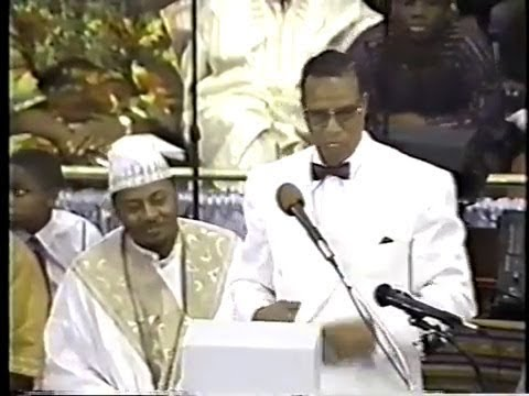 Minister Louis Farrakhan – Making of a New Black Man