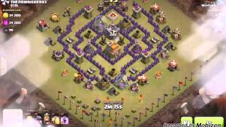 getlinkyoutube.com-Clash of clans, th7 war base anti dragon