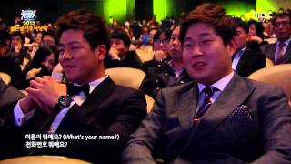 getlinkyoutube.com-4MINUTE(포미닛) - What's Your Name + Hot Issue [131210] MBC 2013 Pro Baseball Golden Globe Awards