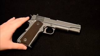 getlinkyoutube.com-limited Edition Cybergun Colt 1911 A1 D-Day Anniversary Pistol