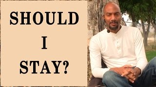 getlinkyoutube.com-Should I Stay In A Negative Relationship with My Children's Father?