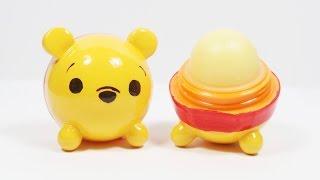 getlinkyoutube.com-DIY EOS Lip Balm: Pooh Tsum Tsum Tutorial