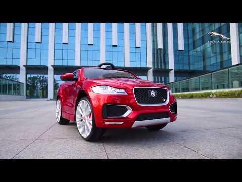 Детский электромобиль Jaguar F Pace на Toy-Auto.ru