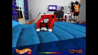 getlinkyoutube.com-Hot Wheels Stunt Track Driver: Tow Jam