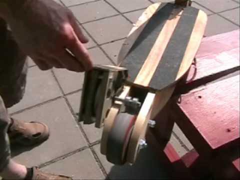 Homemade Electric motor, 150W + kickbike