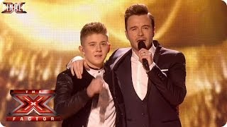 getlinkyoutube.com-Nicholas McDonald sings Flying Without Wings with Shane Filan - Live Week 10 - The X Factor 2013