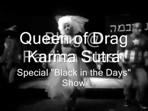 Bling @ Paulina Stash: Karma Sutra with special Black in the Days Show