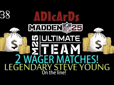Madden 25 Ultimate Team | Wager Match | Legendary Young/80K & 3 Elites/50k | 97 OVR TEAM! | MUT 25