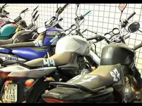 Ciretran realizará em agosto leilões de motos apreendidas.