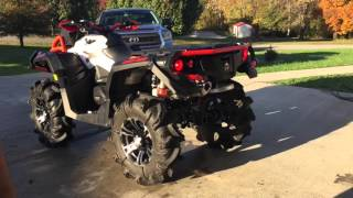 getlinkyoutube.com-2016 can am XMR 1000R with can am yoshimura exhaust