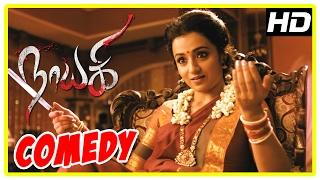 getlinkyoutube.com-Nayaki Tamil Movie | Comedy Scenes | Trisha | Satyam Rajesh | Sushma Raj | Sendrayan | Manobala