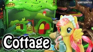 getlinkyoutube.com-My Little Pony Explore Equestria Fluttershy's Cottage MLP Toy Review