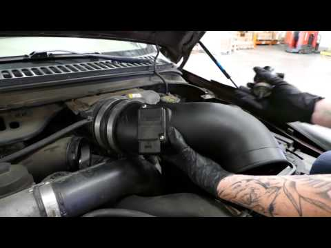 How To Install The S&B Cold Air Intake For The 2003-2007 Ford Powerstroke 6.0L
