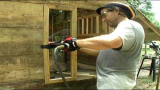 getlinkyoutube.com-HOW TO BUILD HOUSE FOR THE HENS ( using mostly recycled materials)