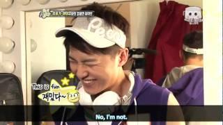 getlinkyoutube.com-[110424] Song Joong Ki & IU for MBC Section TV Interview (engsubbed)