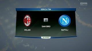 getlinkyoutube.com-FIFA 16 | AC Milan vs Napoli - Full Gameplay (PS4/Xbox One)