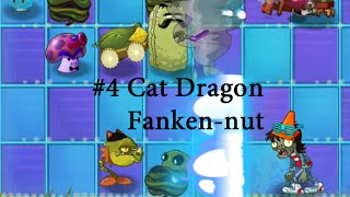 getlinkyoutube.com-Plants vs. Zombies 2 TEXTURE CHANGING! — Cat Dragon, Cob Cannon, Franken-nut.