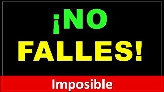 Über-reto: ¡¡No Falles!! (test con respuestas)