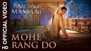 getlinkyoutube.com-Mohe Rang Do Laal (Official Video Song) | Bajirao Mastani | Ranveer Singh & Deepika Padukone