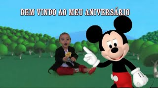 getlinkyoutube.com-A casa do mickey festa do Bryan