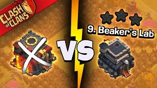 "getlinkyoutube.com-Clash of Clans: ""UNBREAKABLE... TH10 CAN'T 3 STAR IT?!""  THE GOOD, BAD & UGLY WAR"