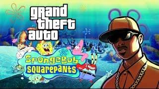 getlinkyoutube.com-Gta San Andreas mod Spongebob
