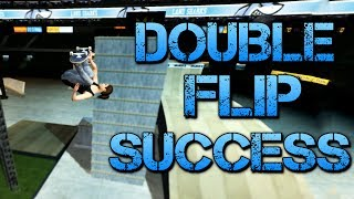 getlinkyoutube.com-Skate 3 - Part 16 | DOUBLE FLIP SUCCESS | Skate 3 Funny Moments