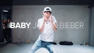getlinkyoutube.com-Baby - Justin Bieber/ Bongyoung Park Choreography
