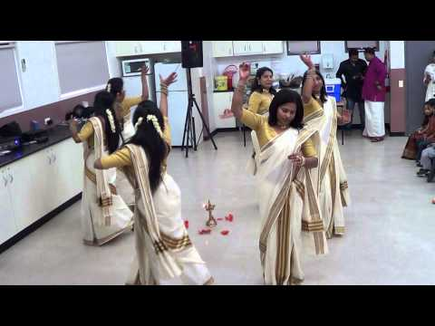 Thiruvathira, StPeters Knanaya Church Melbourne- Onam 2014