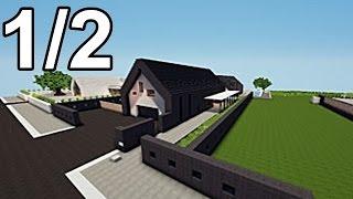 getlinkyoutube.com-Minecraft maisons des abonnés Avec Leblockus ! :) 1/2