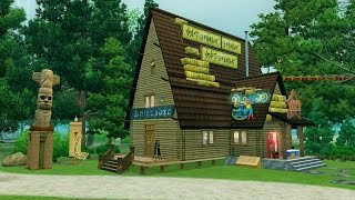 getlinkyoutube.com-The Sims 3 Хижина чудес из Гравити Фолз