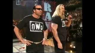 """WWF/WWE Raw: March 18, 2002 - The Rock promo (calls Kevin Nash """"Big Daddy Bitch""""!)"""