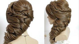 getlinkyoutube.com-Wedding hairstyles for long hair tutorial.