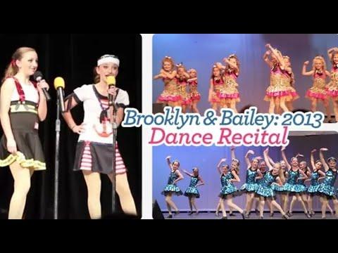 2013 Dance Recital | Brooklyn and Bailey