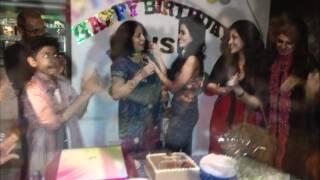 getlinkyoutube.com-ALISHA Pradhan Actress BIRTHDAY DJ Party